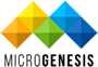 MicroGenesis Tech - Logo black