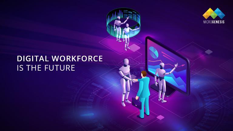 Digital Workforce using RPA